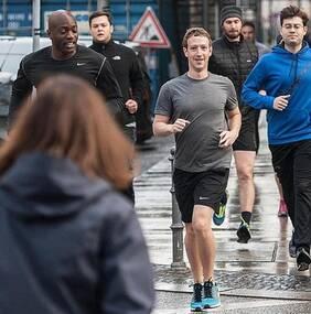 扎克伯格遭恐吓仍外出跑步 锻炼身体比命还重要?