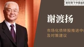 谢渡扬:市场化债转股推进中的难点及对策建议
