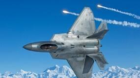 美韩大规模军演第一天F-22就丢脸