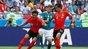 世界杯韩国队太强了,利用黑科技把德国战车干翻了!