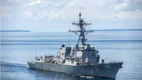 美战舰穿越台湾海峡是在玩儿命走钢丝