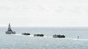 用机器人扫雷已经落伍了?不,这次是在海上