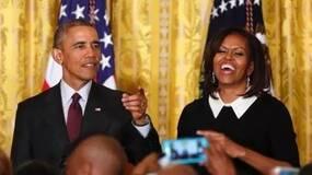 离开白宫后写书 奥巴马夫妇稿费4000万