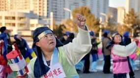 朝鲜人过了个革命化的春节