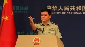 国防部举行5月例行记者会