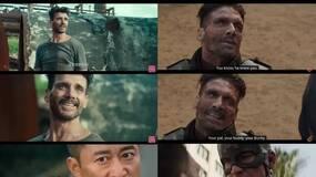 战狼2与美国队长相似度99%,唯一的不同...(黑白先生)