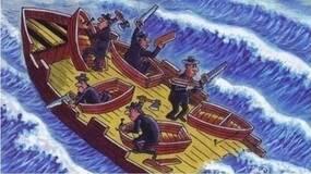 讲个故事,一艘载满乘客的大船,船身还不断漏水...(黑白先生)