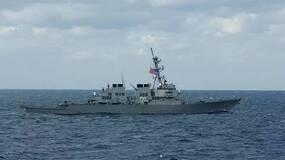 """美舰擅入南沙群岛海域6小时,越发背离""""无害通行"""""""
