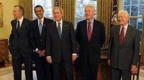 那些访问过中国的美国总统们