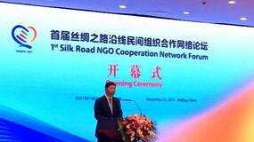 首届丝绸之路沿线民间组织合作网络论坛开幕,宋涛提三点建议