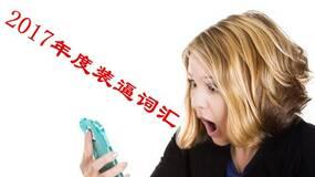 丁道师:2017年中国互联网十大装逼词汇