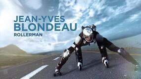 活着不好吗?法国哥们身穿轮滑衣爬长城,挑战天门山。