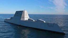 世界最强航母和最强核潜艇对决,谁更猛?