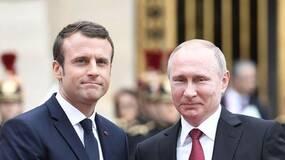 """马克龙与普京通话谈叙利亚问题,强硬的法国为何突然变""""软""""?"""