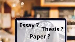 essay、thesis、paper 和 dissertation 区别