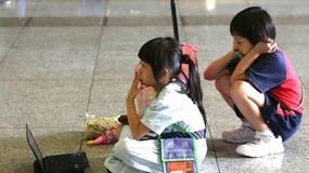 凌晨四点,去香港上学
