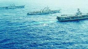 """""""猎杀""""中国潜艇明目张胆 美日印海上军演利齿撕咬!"""