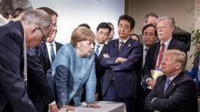 G7峰会那张著名的刷屏照片反转了?鬼才相信!