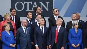 """早安·世界 神构图!北约峰会上特朗普与盟友""""意见相左"""""""