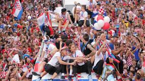 世界杯·直击|从白天到黑夜,克罗地亚人民迎接英雄凯旋