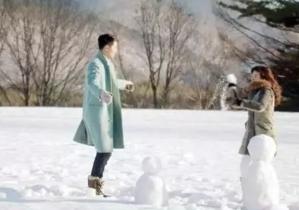 今日大雪,我仿佛变成了韩剧女主…