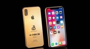 新款iPhone开启奢华定制 纯金售79万元