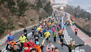 江苏连岛超级马拉松开赛
