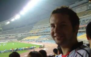 一个情迷中国足球的苏格兰人