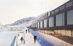 瑞士滑雪胜地将建创意主题酒店