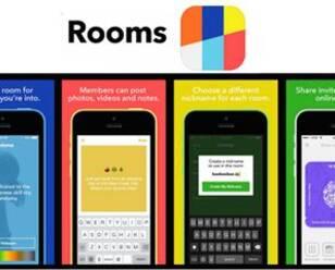Facebook发布匿名聊天应用Rooms
