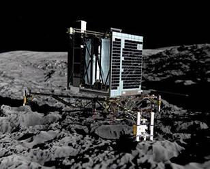 """""""菲莱""""探测器在彗星表面检测到有机分子"""