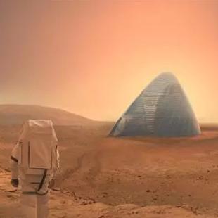 最早逃离地球的人将在火星房子栖居
