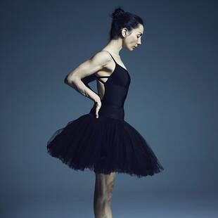 照片展示芭蕾舞蹈家幕后残酷训练