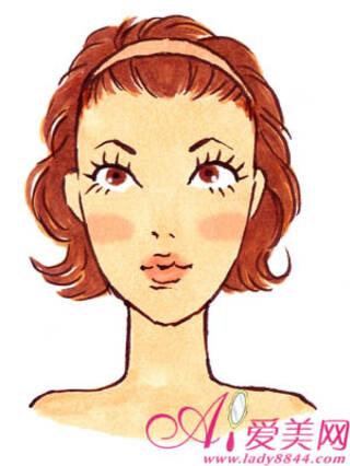 不同脸型腮红的画法-手机凤凰网