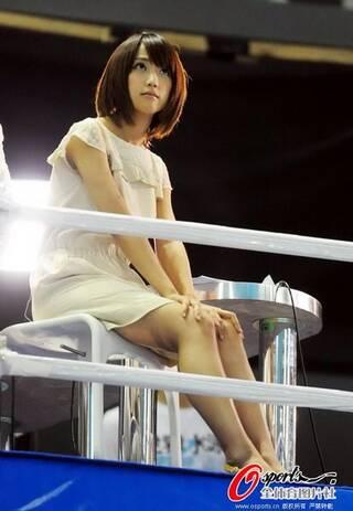 走光女王领衔日本世界杯美女主播团