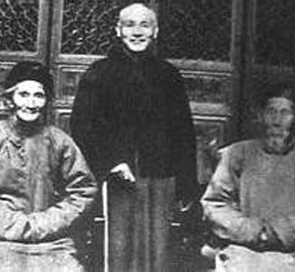 蒋介石最后一次回家乡旧照