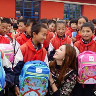 林志玲:用温柔的方式善待这个世界