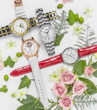 戴上彩色手表 春天就在你的腕间