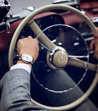 赛车和腕表 都有着相同的勇于挑战的精神