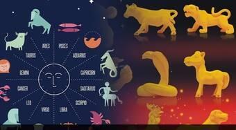 星座命理测�_西方的星座文化跟东方的生肖命理文化有何异同?