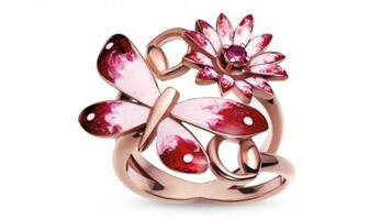 Gucci Flora系列珠宝