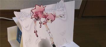 大触绘制精美3D立体画 纸片人妹子突破次元之美