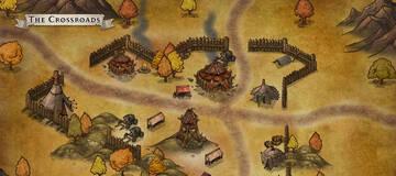 大触画作:魔兽复古风经典旧世地图 难忘的十字路口