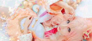 韩国美女个人COS集:甜美、可爱 仿佛天仙下凡
