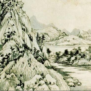 富春山居图其实是一幅残画