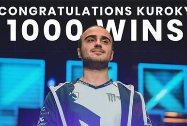KuroKy成首个职业比赛达成1000胜DOTA2选手