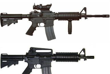 CS时代的M4A1和CSGO中的M4A4 现实中哪个更好用?