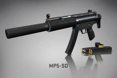 CSGO推出全新武器:永恒的经典—MP5SD