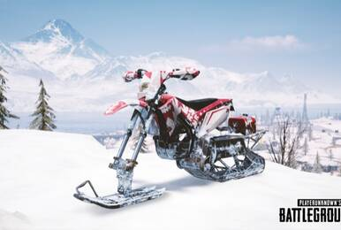 骑雪地摩托车看极光 《PUBG》释出大量新内容