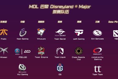 MDL巴黎Major预选赛结束 六大区15支战队名单产生